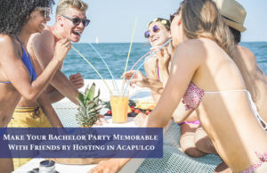 Bachelor party yachts Acapulco